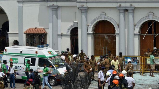 শ্রীলঙ্কা-ইস্টার সানডে-বোমা হামলা